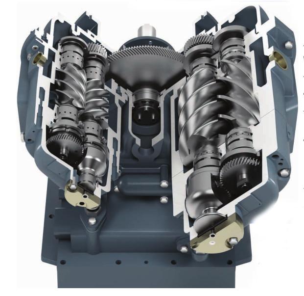 compressor scerw - سرویس، تعمیر و نگهداری کمپرسور های اسکرو